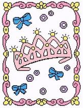 My Little Princess Crochet Graph Afghan Pattern - $4.00