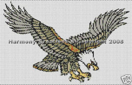 Bead Pattern Eagle in Flight Peyote Stitch Tatt... - $0.00