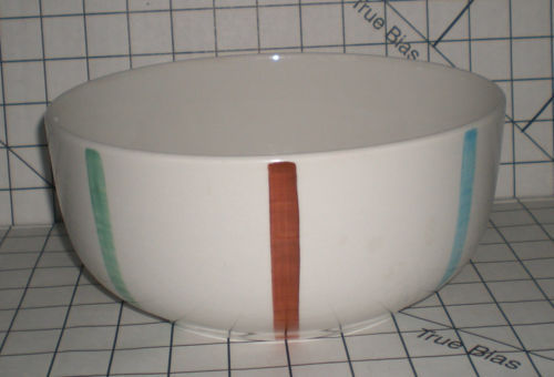 RARE LARGE de Sphinx Bowl parafeu Holland Mid Century Danish Modern  8.5in Eames