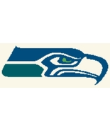 Latch Hook Rug Pattern Chart: SEATTLE SEAHAWKS ... - $5.75