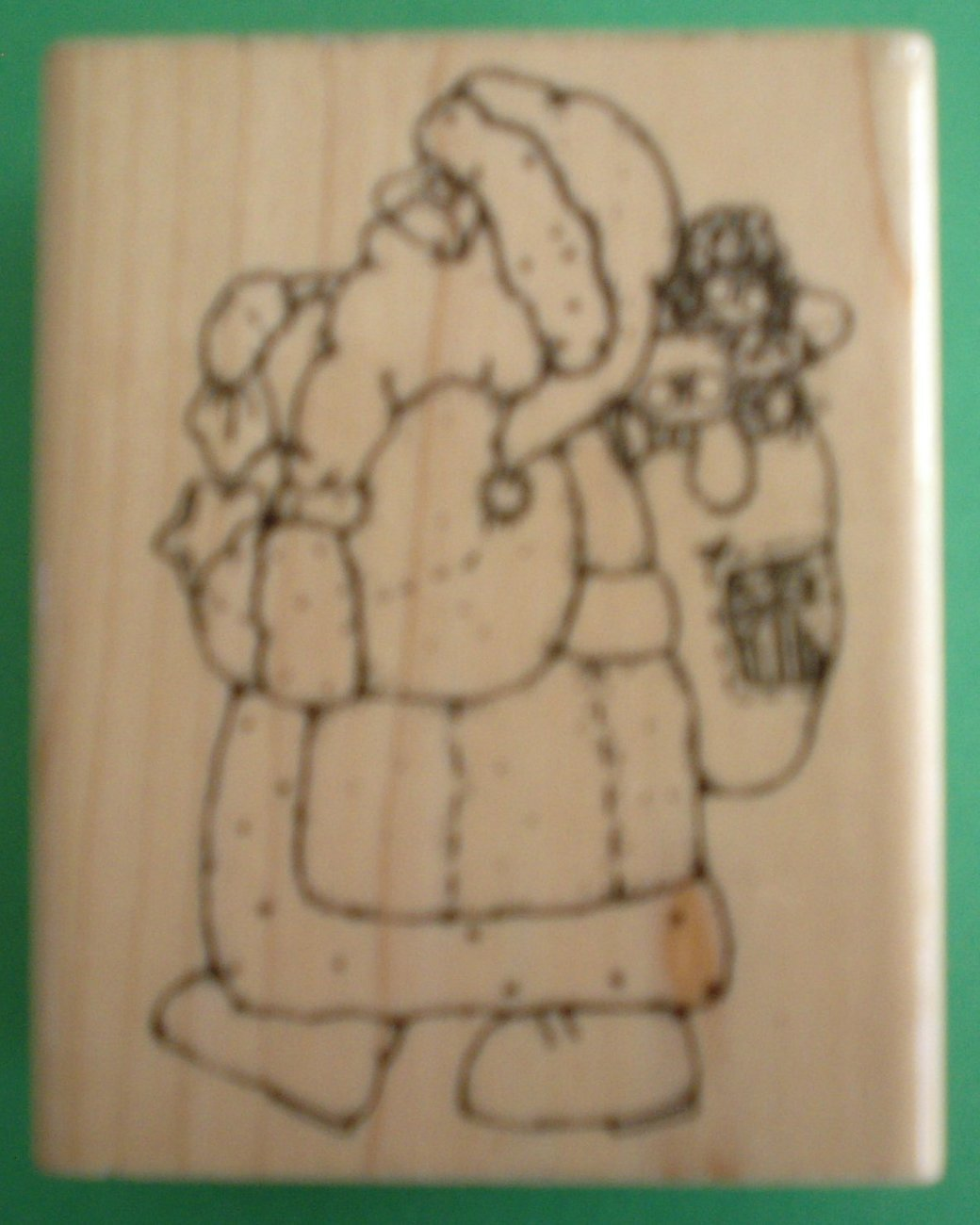 Country Santa    Rubber Stamps   D.O.T.S.  #205