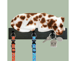 Buy Gifts and Collectibles - Dalmatian Liver/White Dog Leash and key Holder Gift