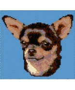 Latch Hook Rug Pattern Chart: CHIHUAHUA - EMAIL2u - $5.75