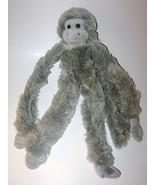 Grey Hanging Monkey Plush Stuffed Animal Fiesta... - $13.98