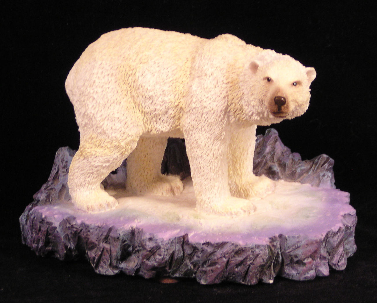 Polar Bear Sea World Figurine Extinction is Forever