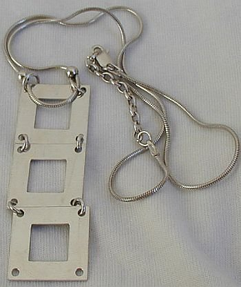 Silver Ladder Necklace B Jewelry Necklaces Amp Pendants
