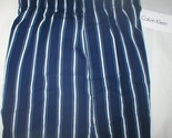 Buy Sleepwear - Calvin Klein Men's Blue & white Striped boxer shorts M NEW