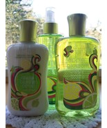 Bath & Body Works Signature Collection Apple Blossom Citrus 3-Piece Set