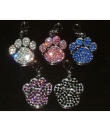 SWAROVSKI CRYSTAL PAW IN 5 COLOR CHOICES - $21.95