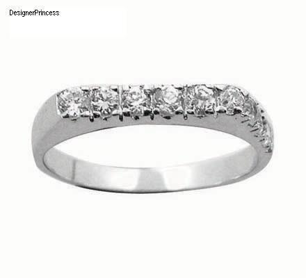 1 Ct  Russian CZ  Diamond Chanel Ring Size 7