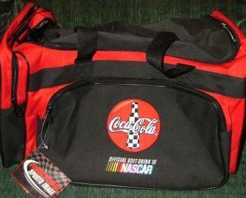 Nascar Cocacola gym bag, new with tags