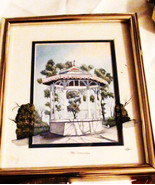 THE GAZEBO Arizona Southwestern Art by Gerry St... - $51.00
