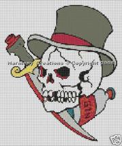 Bead Pattern Skull Dagger & Gin Bottle Loom Sti... - $0.00
