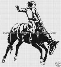 Bead Pattern Western Bronco Cowboy Loom Delica ... - $0.00