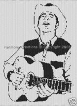 Bead Pattern Western Cowboy and Guitar Peyote S... - $0.00
