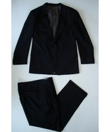 Cricket Club Men's Black Suit Jacket 32L Pants 36W