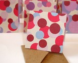 Buy Gift Tags - Super Mini Pink, Purple and Polka Dots Note Card Set