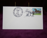 Buy 1986 Cowboy Poetry Station Event Cover # 2156 Morgan 22 Cent