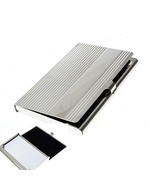 Elegant Stainless Steel Business Card Case - $3.99