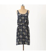 NEW 2011 Anthropologie Gameboard Silk Dress 6/... - $89.99