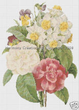 018 Bead Pattern Camellia, Narcissus, Pansy Flo... - $0.00