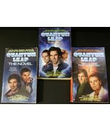 Quantum Leap 3 novels by Ashley McConnell 1992 ... - $7.95