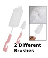 Set of 2 Bottle Brushes Set Kitchen Baby Bottle... - $2.99
