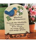 Bluebird of Happiness Plaque with Stand - $12.00