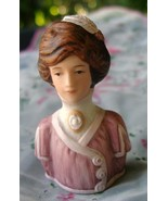 Vintage Collectible Avon Porcelain Fashion Silh... - $11.99