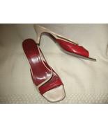 Sara Navarro Slides Size 6.5 USA/37 EU Made In ... - $23.69
