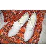 Vintage 1930s NOS White Shoes Sz 4.5 Great Gats... - $41.59