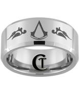 10mm Beveled Tungsten Carbide Assasins Creed La... - $49.00