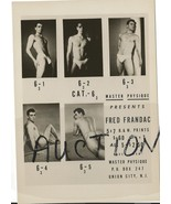 Beefcake Fred Frandac Vintage Photo Nude Model ... - $9.99
