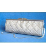 Dalila Purse Quilted Silver Wire Mesh Handmade ... - $290.00