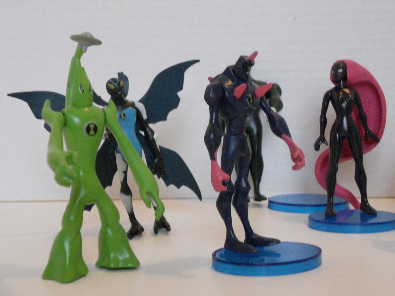 10 Ben 10 Alien Force Action Figures