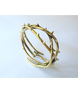 Brass Bracelet Circle of Thorns by MAFIA Jewellery