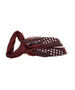 Burgundy and Maroon Button Down Scarf - $19.99