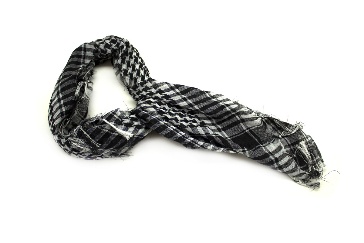 The Plaid Snowboarder Scarf