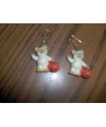 Halloween Teddy Bear Earrings - $2.99
