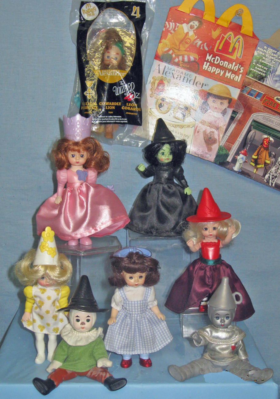 Wizard of Oz - Madame Alexander - McDonald's Happy Meal - Set of 8
