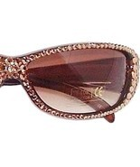 Sunglasses Light Golden Topaz Austrian Crystal ... - $37.99