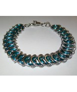 Nested Ladder Chainmaille Bracelet - $20.00