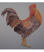 Wallies Rooster - New in Package - $10.00