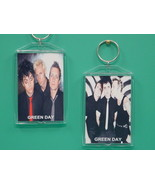 Green Day 2 Photo Designer Collectible Keychain - $9.95