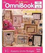 The Omnibook of Celebrations cross stitch book 120 designs Jeanette Crews Design - $3.50