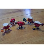 RARE 1989 General Foods/Tang Lips PVC Figures a... - $7.99