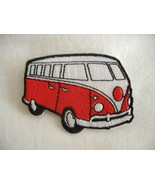 VW CAMPER VAN Embroidered Sew on Patch