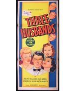 Three Husbands 1951 DVD Eve Arden - $8.00