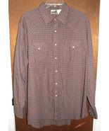 Mens Express Rider Western Pearl Snap Shirt Siz... - $13.99