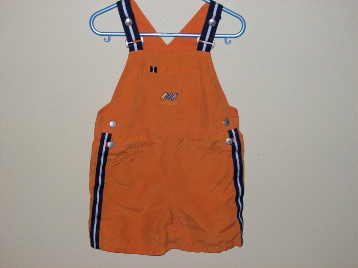 gymboree orange shortall 12-18 months